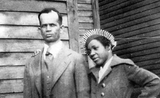 Berry Gordy Snr and Bertha Gordy