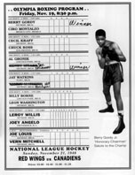 Boxing Program 1948