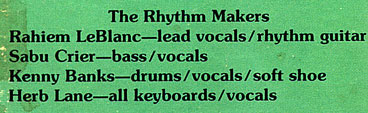 Rhythm Makers Line Up