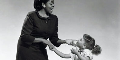 With Dinah Washington