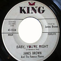 James Brown 45