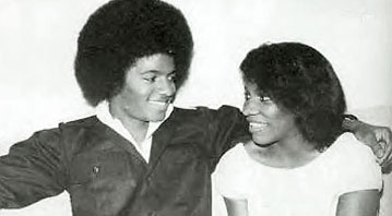 Michael Jackson and Stephanie