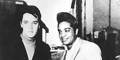Jackie with Elvis